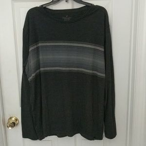 American Eagle Grey Seriously Soft Classic Fit Top